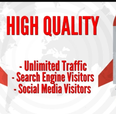 PREMIUM 30000 real SEO TRAFFIC with Search Engine and Social Media Visitors