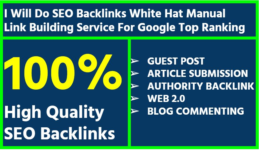 I will create the best backlink by valuable guest post