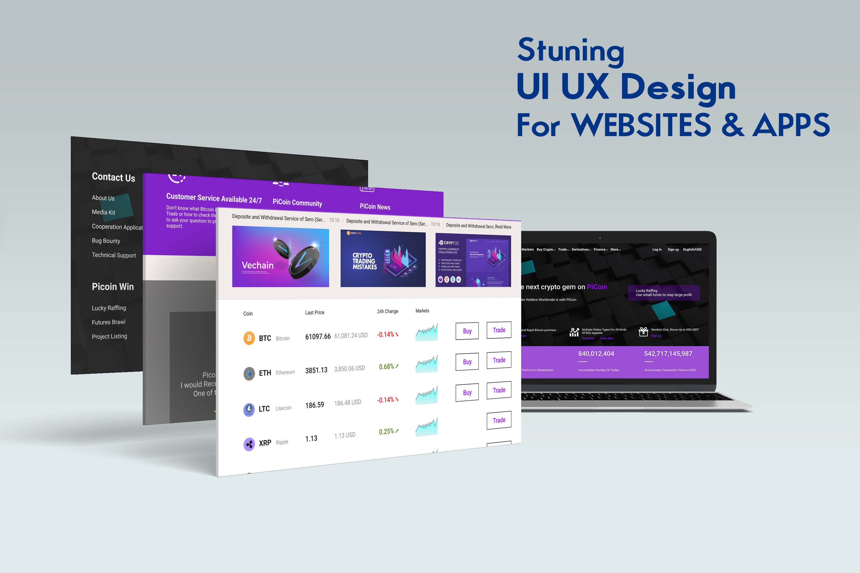 I WILL Design UX UI web screen And Apps using adobe xd or figma