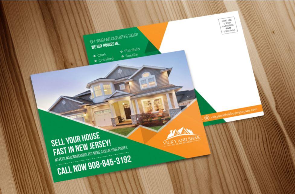 I will design amazing postcard design in 8 hour