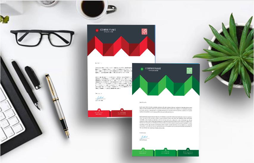 I will design beautiful,  letterhead