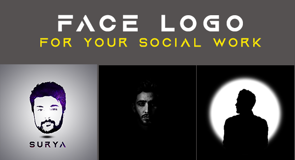 I will create a face logo for your social accounts