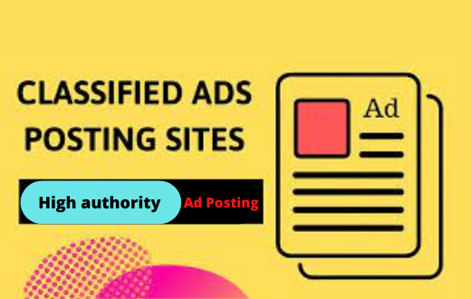 I will do 30 high quality free classified adds posting