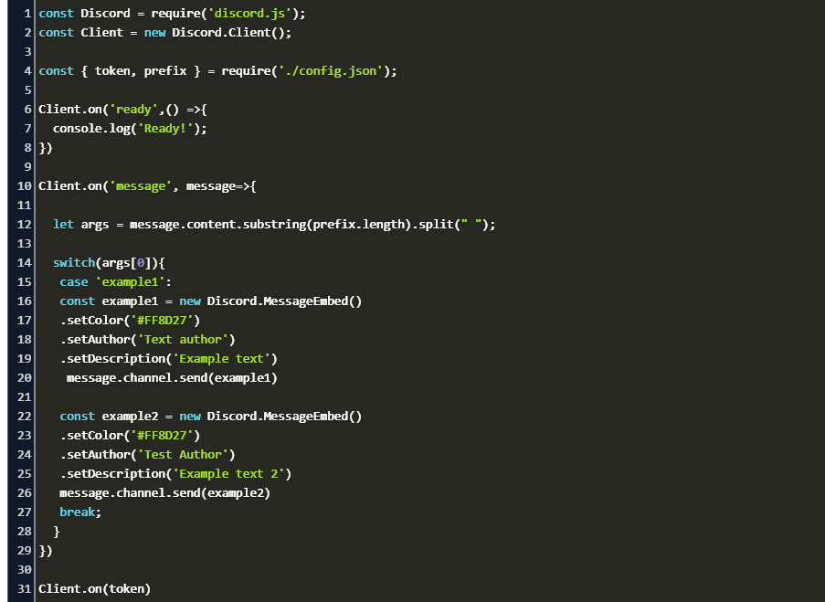 I can program a bot with cmd handler and other additional commands such as moderation,  interaction.