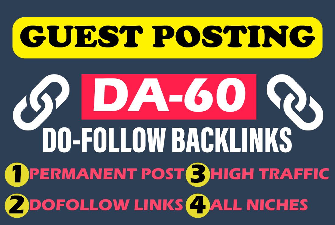 Publish High Quality Guest Post on my DA62 Blog