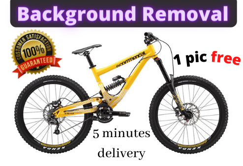 I will remove image background 1 free image in 15 minutes