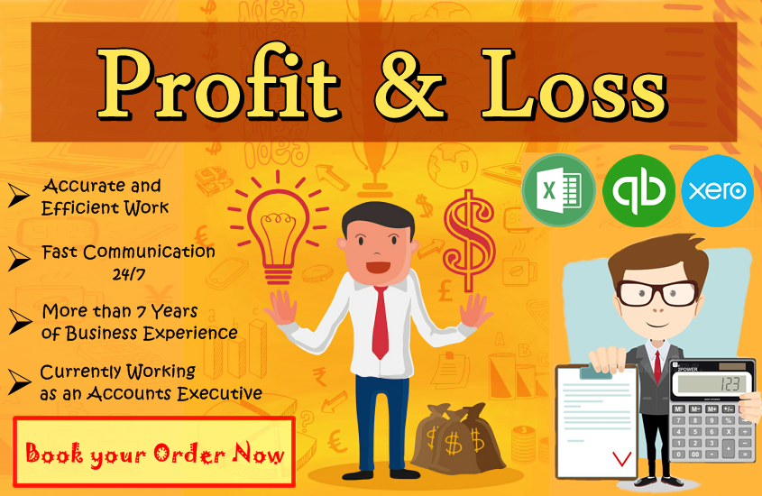 I will make profit and loss statement of your business