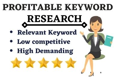 I will do profitable keyword research for your website/business