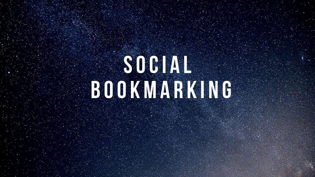 I will do 25 social bookmarking on high da backlinks.