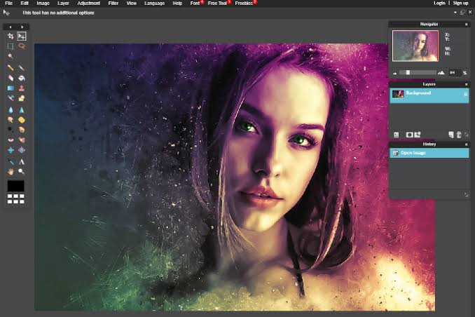 Edit photos and re-edited them professionally