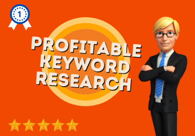 I will do profitable KEYWORD RESEARCH for your business website