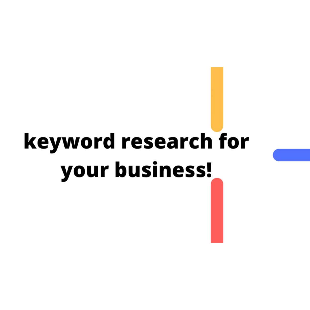 Do excellent keyword research for your blog that will rank