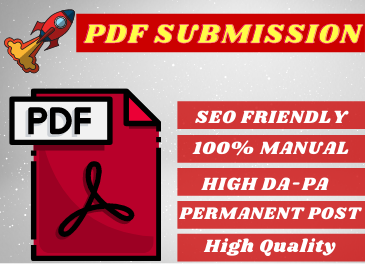 GET 80+ High Authority PDF Or Document Submissions For SEO Backlinks on Top Doc Sharing Sites.
