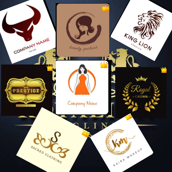 I will design Professional ROYAL LOGOS for you