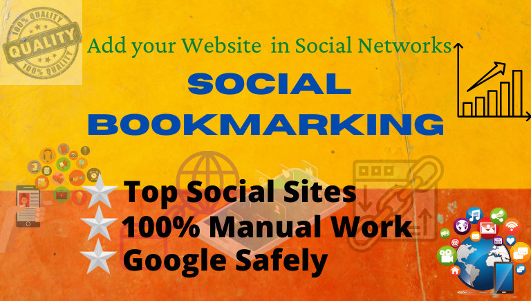 Add Your Website Top 35 High Quality Social Bookmarks/Bookmarking Sites