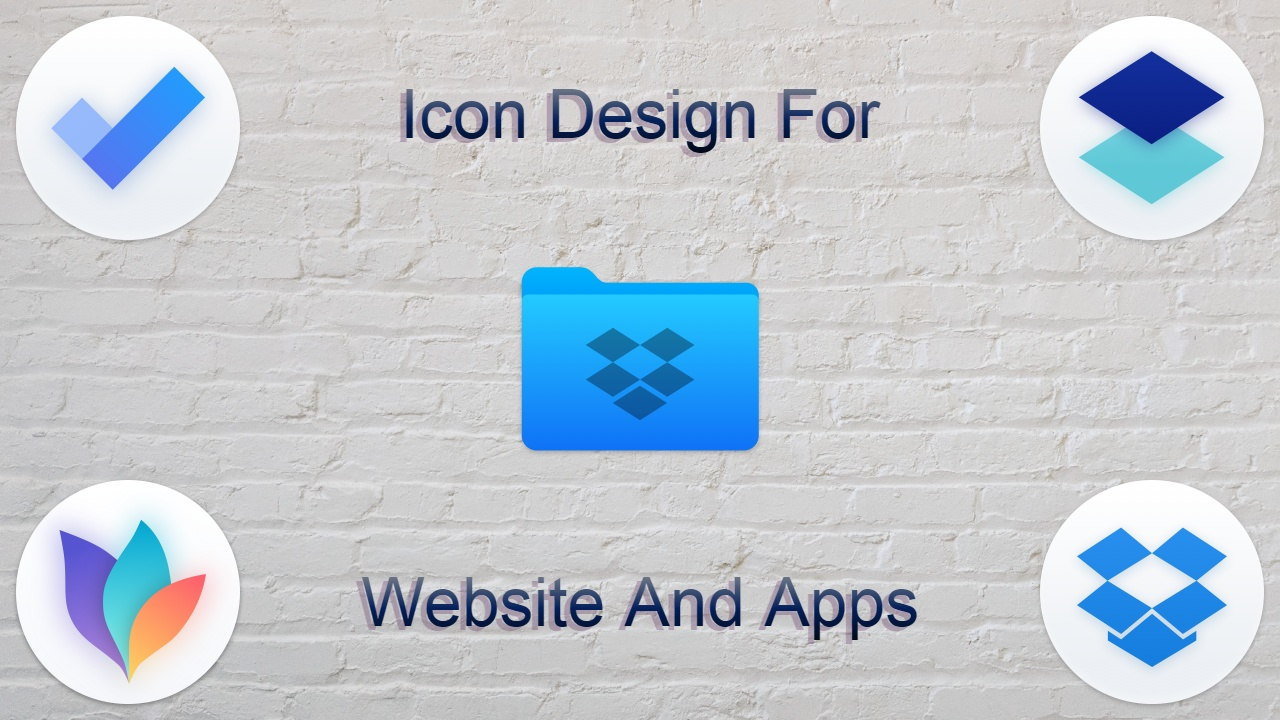 I Will Design Most Attractive Icon For Website And App