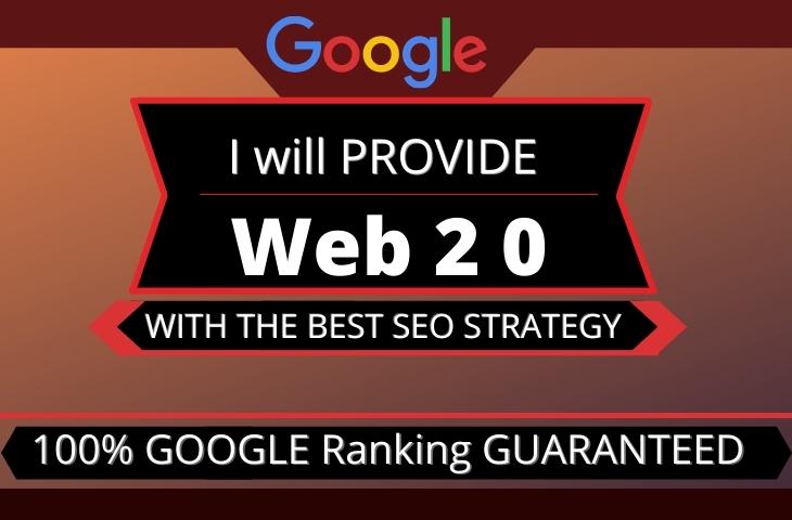 I will build manually high authority web 2 0 backlinks