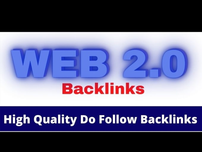 I will do 10 Instant approval web 2.0 Submission to generate high quality backlinks