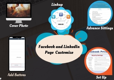 I will Build and Setup an Impressive Facebook And LinkedIn Business Page