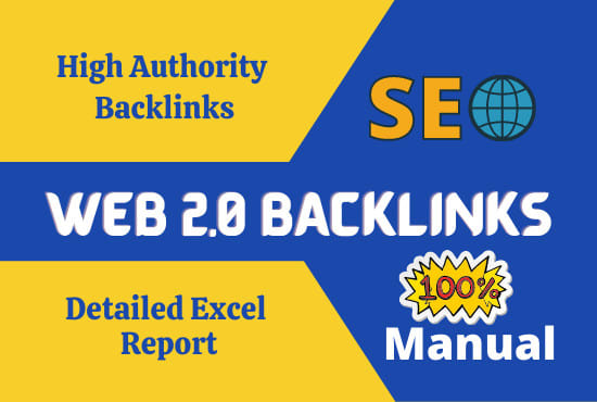 i will make 50 web 2.0 backlinks for top rank