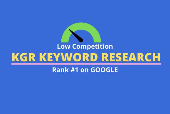 50 kgr keyword research that actually ranks