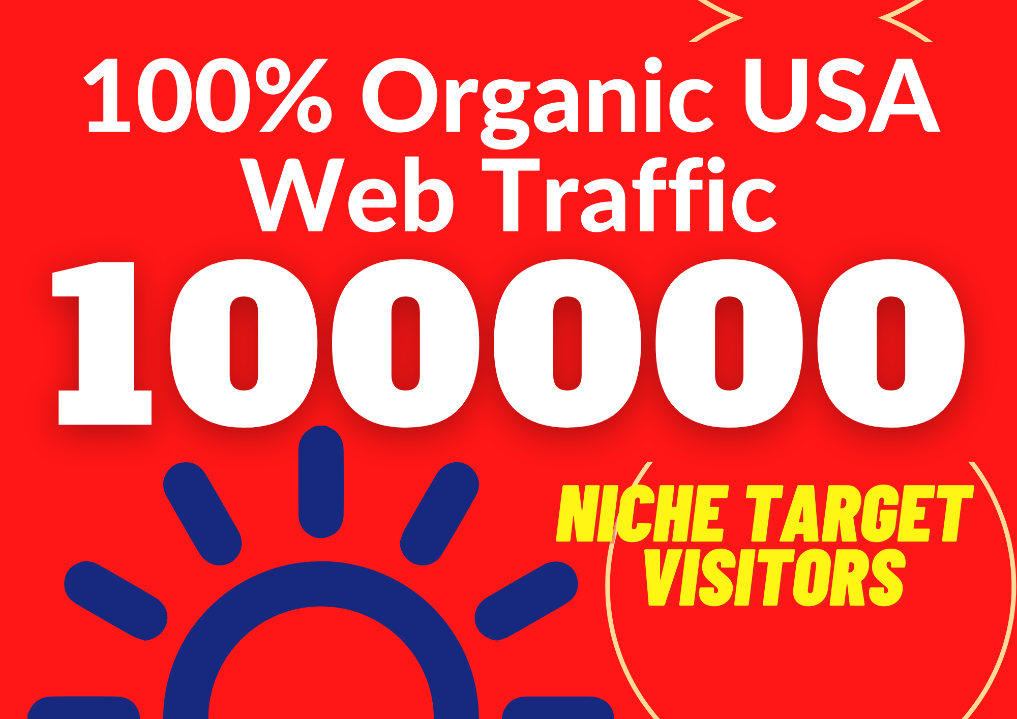 Provide Real Organic Web Traffic From USA/ CANADA/ EUROPE