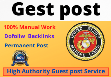 Write and Publish High Authority website10 Guest Posts unique article on the permanent backlinks