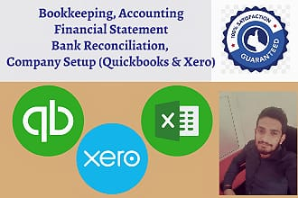 I will bookkeeping and data entry in quickbooks online xero excel