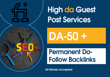 i will publish high da guest post service