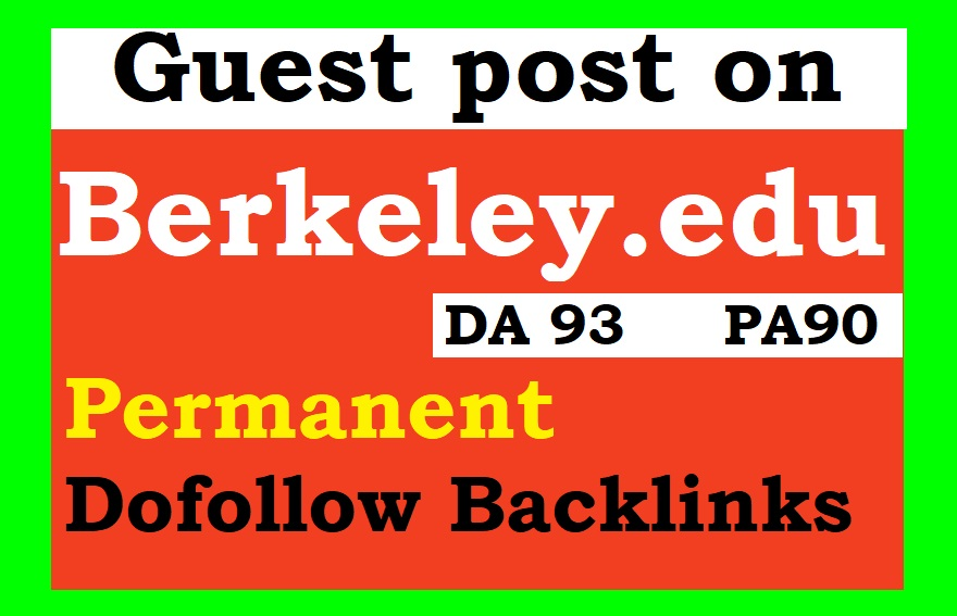 Write and Publish Edu Guest Post On Da93 University Of California Berkeley