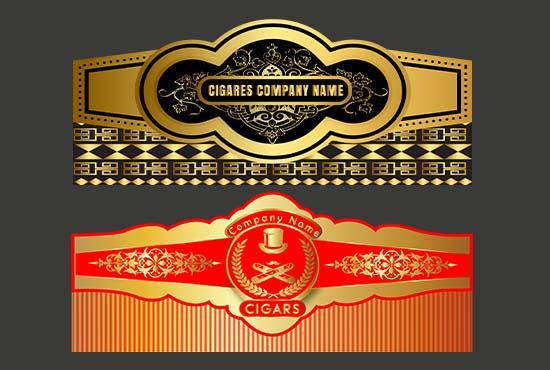 I will do design a unique cigar label and logo design 24hr