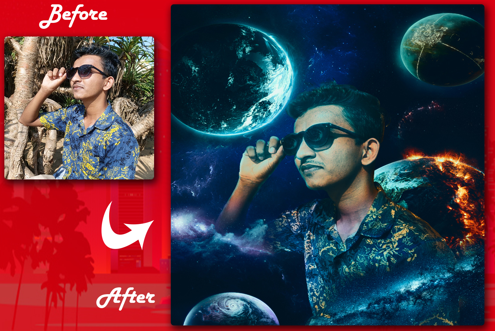 Create Awesome Photo manipulations and composites