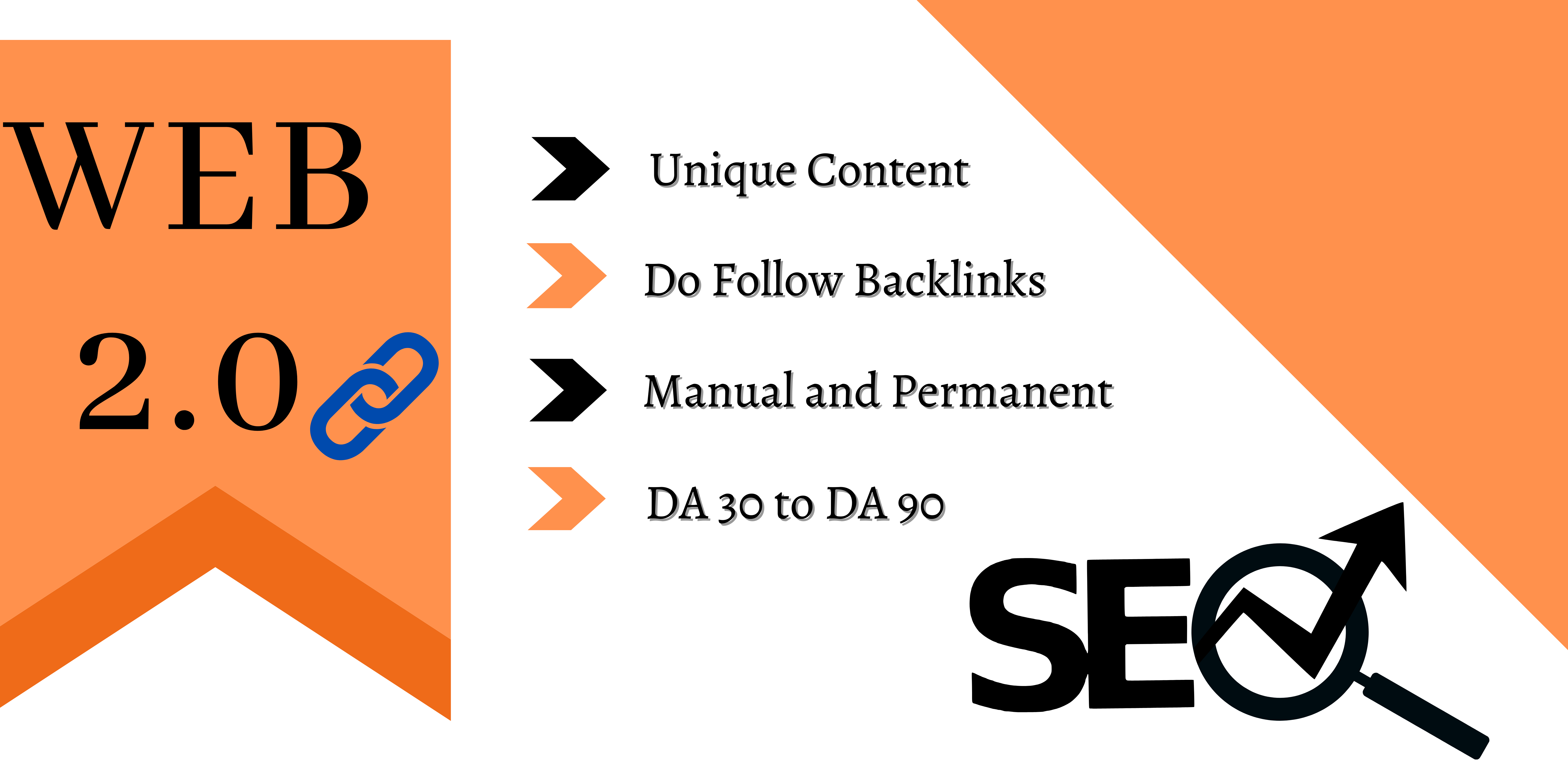 I will create powerful web 2.0 backlinks to rank your your website