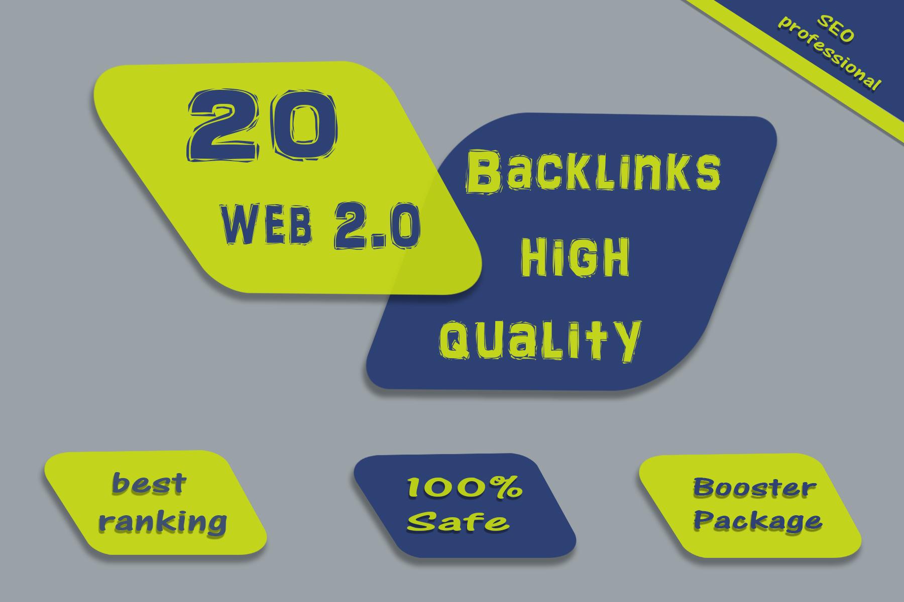 20 build high quality authority web 2 0 backlinks