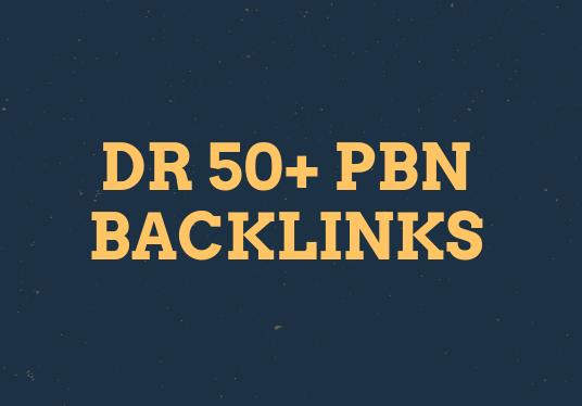 Get 50 Dr 55+ Pbn Backlinks For Your Website