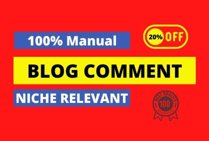 i will make 100 blog comments backlinks