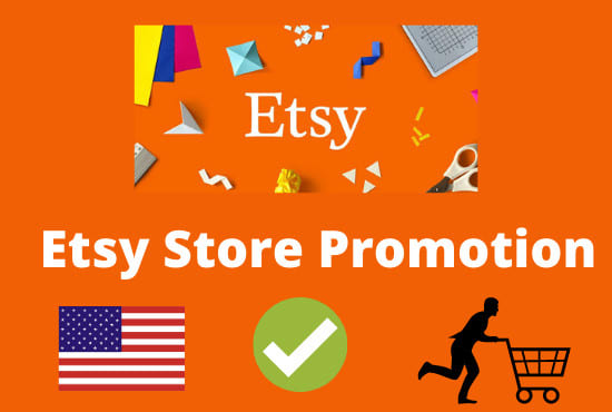 Promote your Poshmark,  Etsy,  eBay and other organically to grow your Shopify sales