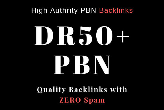 Create 30 DR 50+ UNIQUE HOMEPAGE PBN backIinks