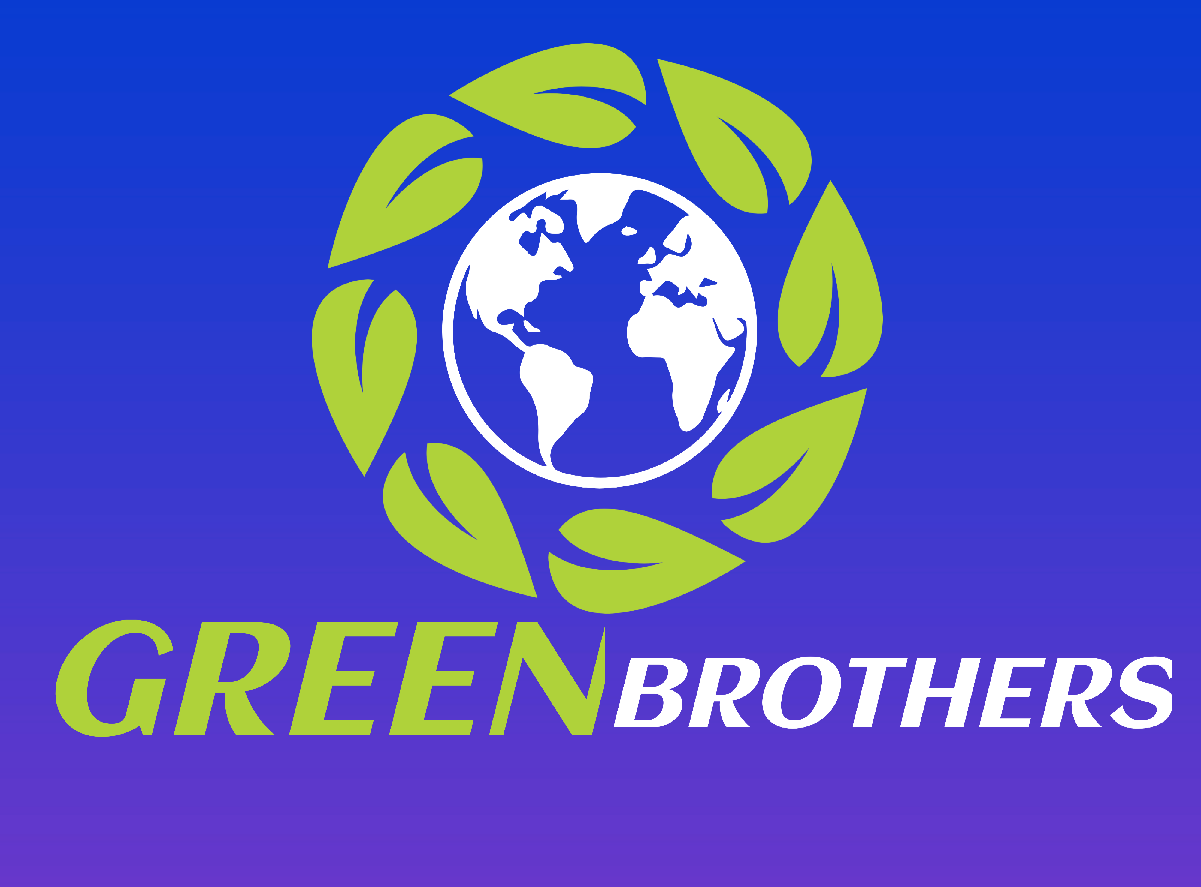 LoGo Making, Grow up with us,  Best Graphic design. GREEN BROTHER'S. Best Quality