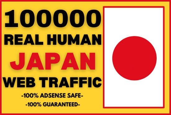I will send keyword target japan website traffic