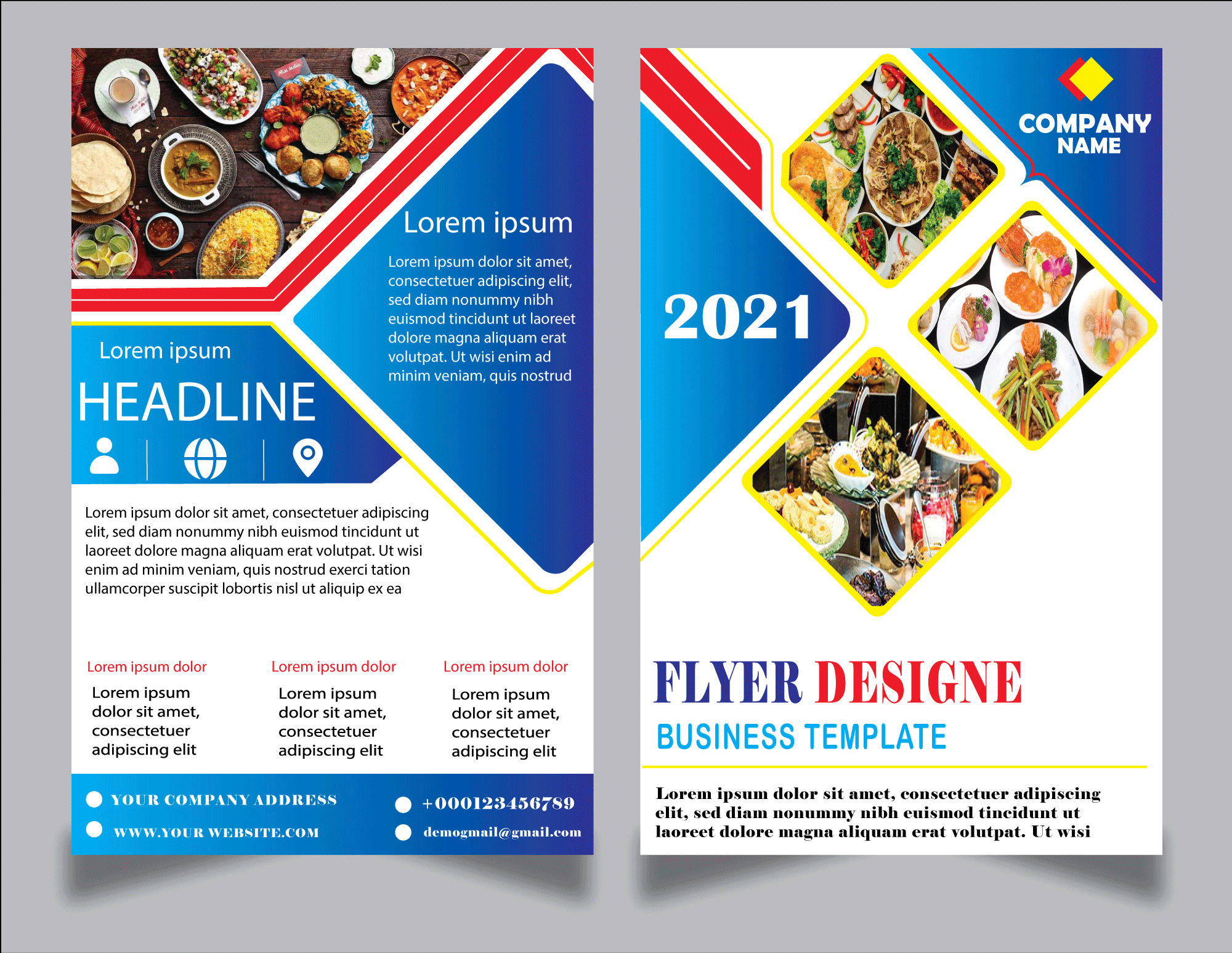 I will create the best flyer, poster brochure design in 24 hrs