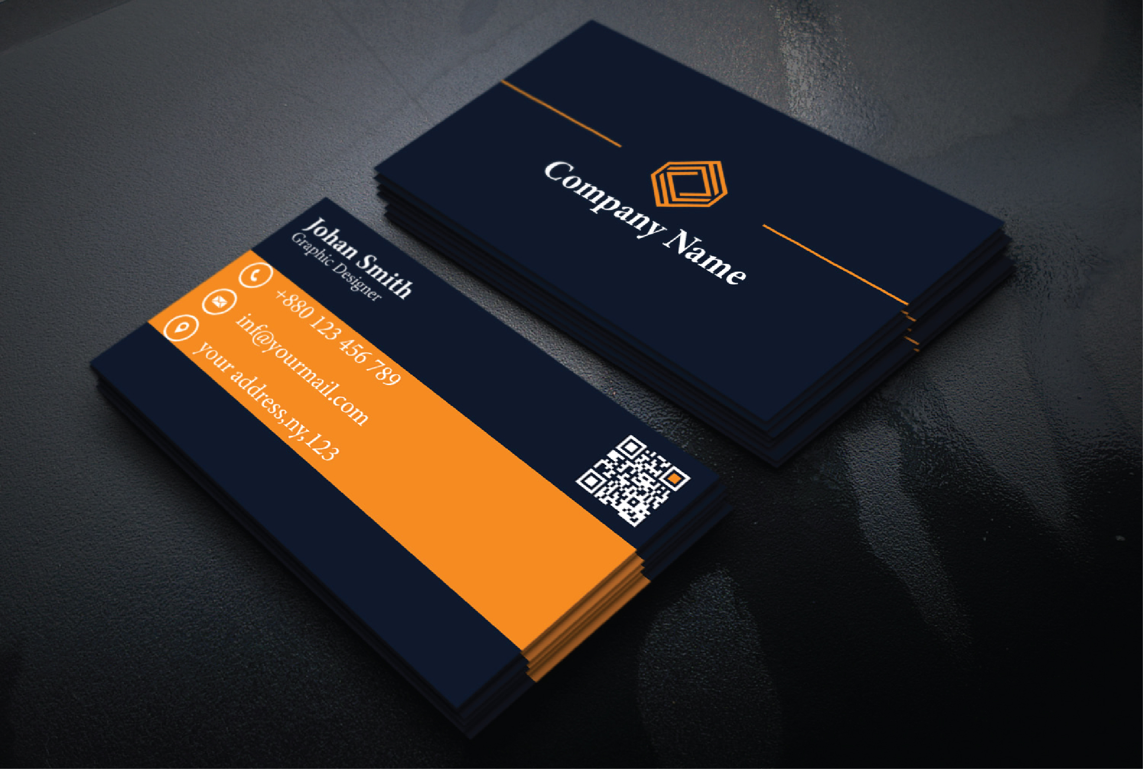 I will do a stunning business card