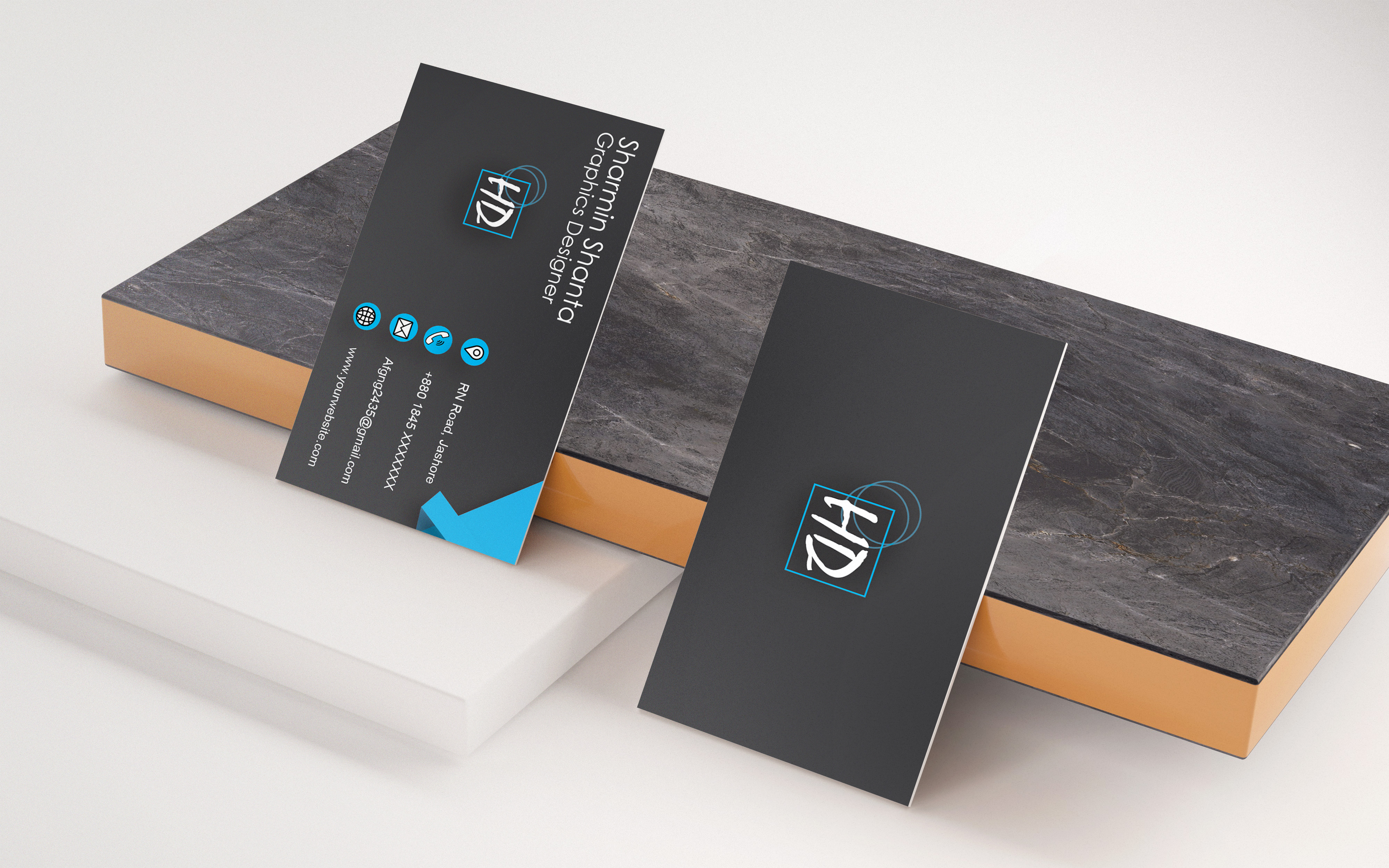 I will design marvelous business card for you