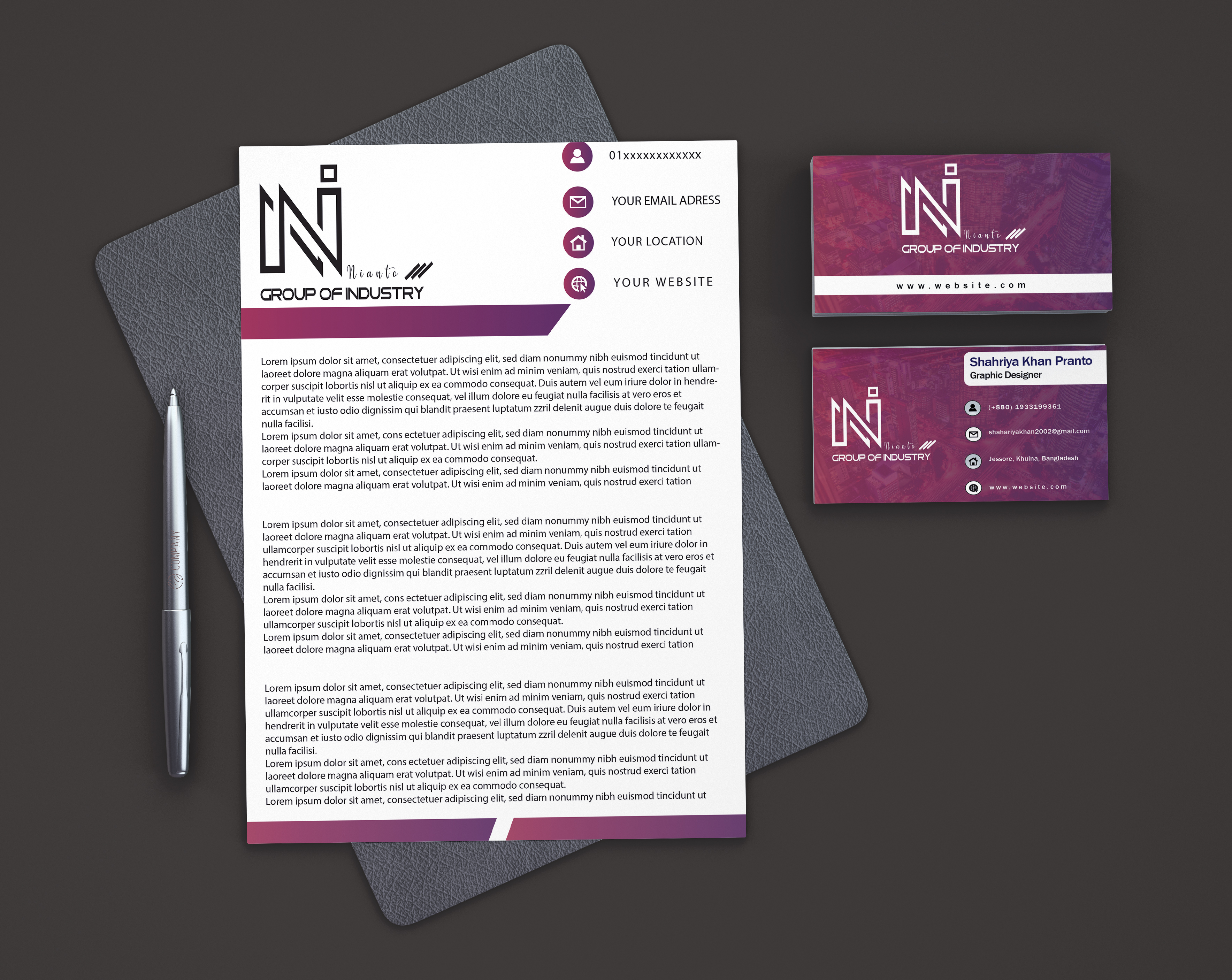 I will do business card and stationery designs