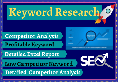 100 Keyword research with high volume organic traffic with on page seo to rank your website