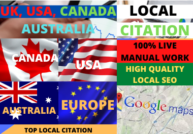 Create 500 Google Maps and Local Citations For Your Local Business Listing