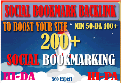 200 Powerful Social Bookmark Backlinks Signals for Google rankling