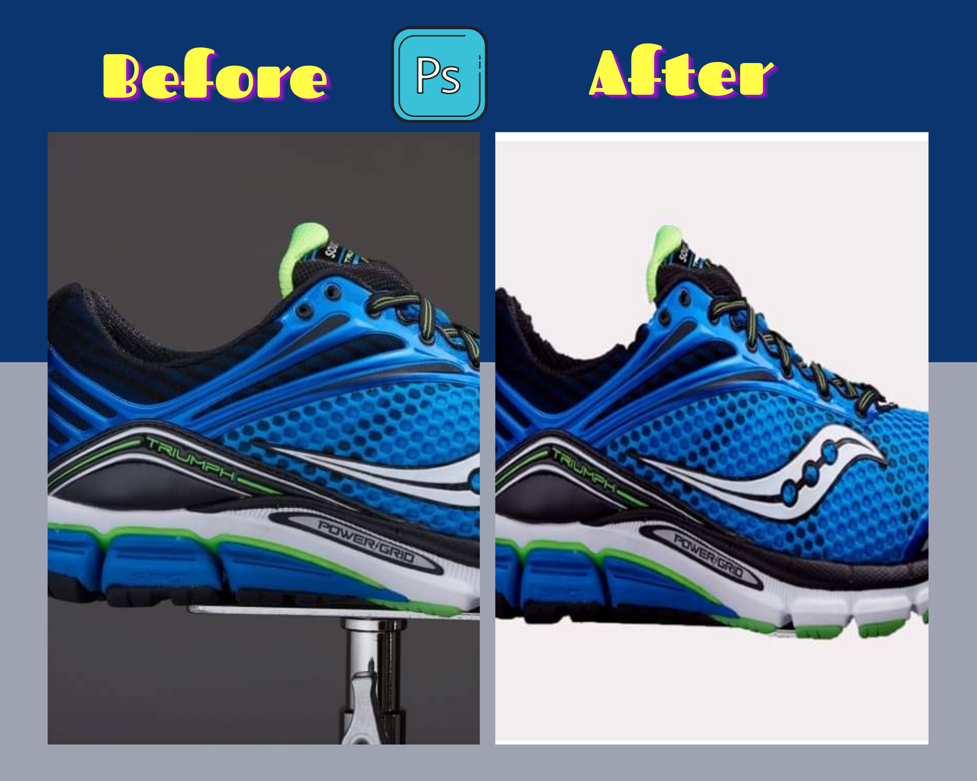 Background Removal by Photoshop