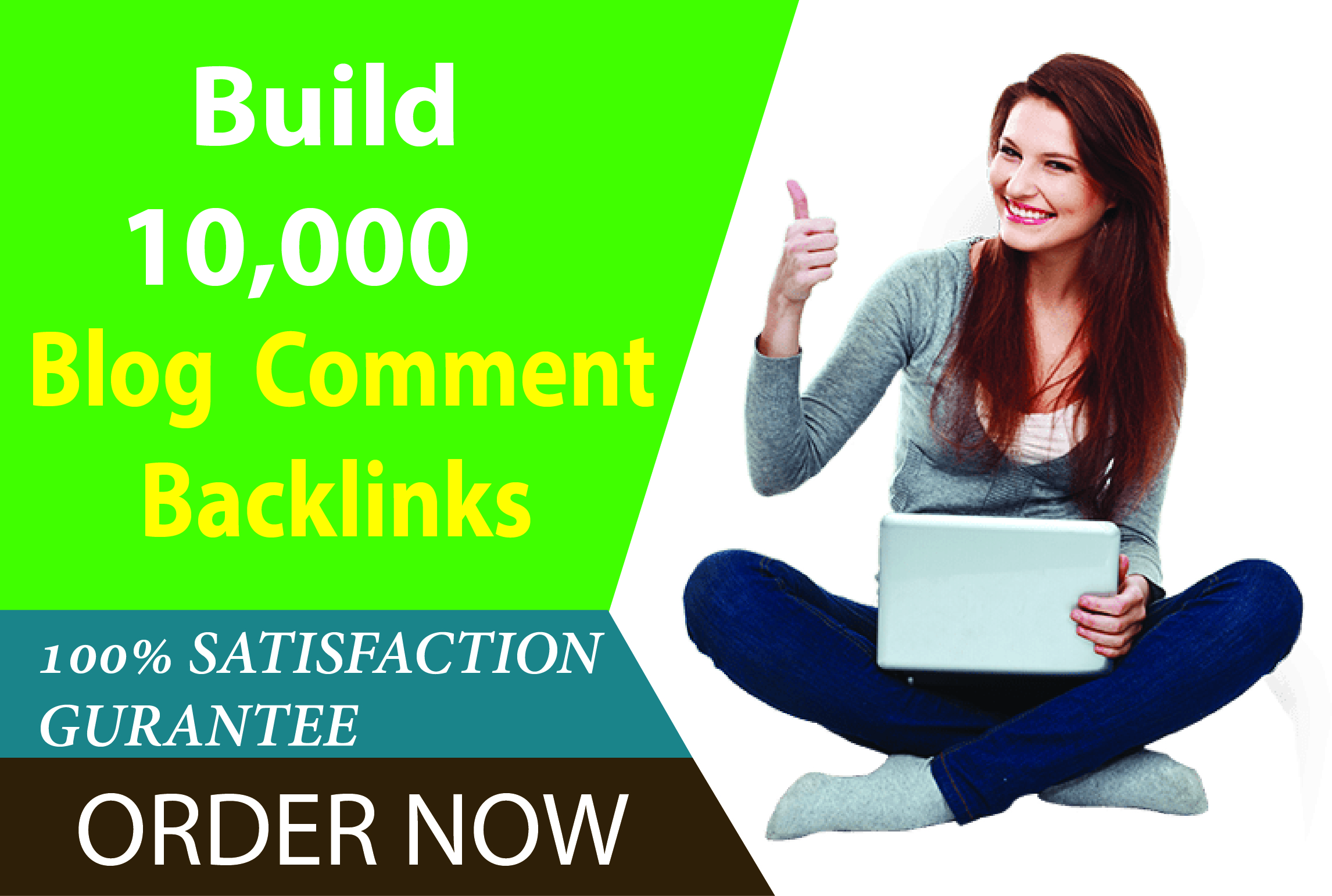 I will create 10,000 blog comments SEO backlinks for google ranking