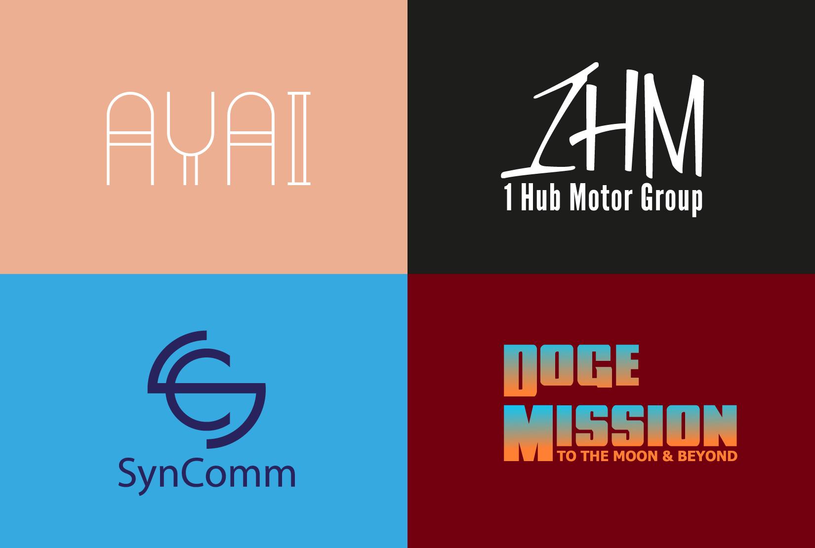 I will do Unique,  Modern,  Creative logo design